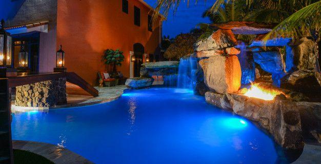 Backyard Custom Pool Resort Wellington Florida 6318 Pool Luxury Pools Backyard Pool