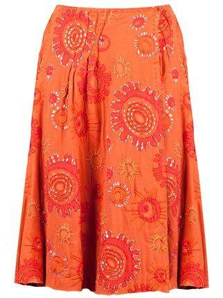Projet Alabama appliquéd skirt