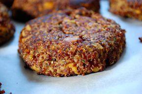 Perfektní vegeburger (quinoa, cizrna, batáty & cuketa)   Ze zahrady do kuchyně