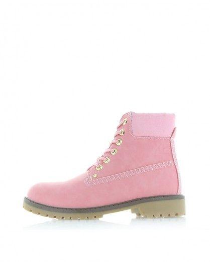 Růžové kotníkové boty XTI 28821