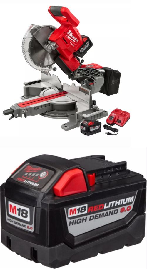 Miter and Chop Saws 20787: M18 Fuel 10 Miter Saw Kit W Bonus 2Nd 9.0Ah Battery Milwaukee 2734-21Hd *New* -> BUY IT NOW ONLY: $545 on eBay!