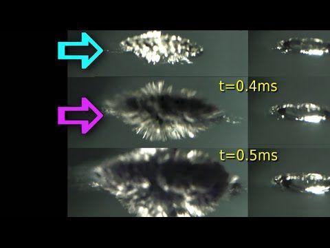 High speed camera reveals why sodium explodes! - YouTube