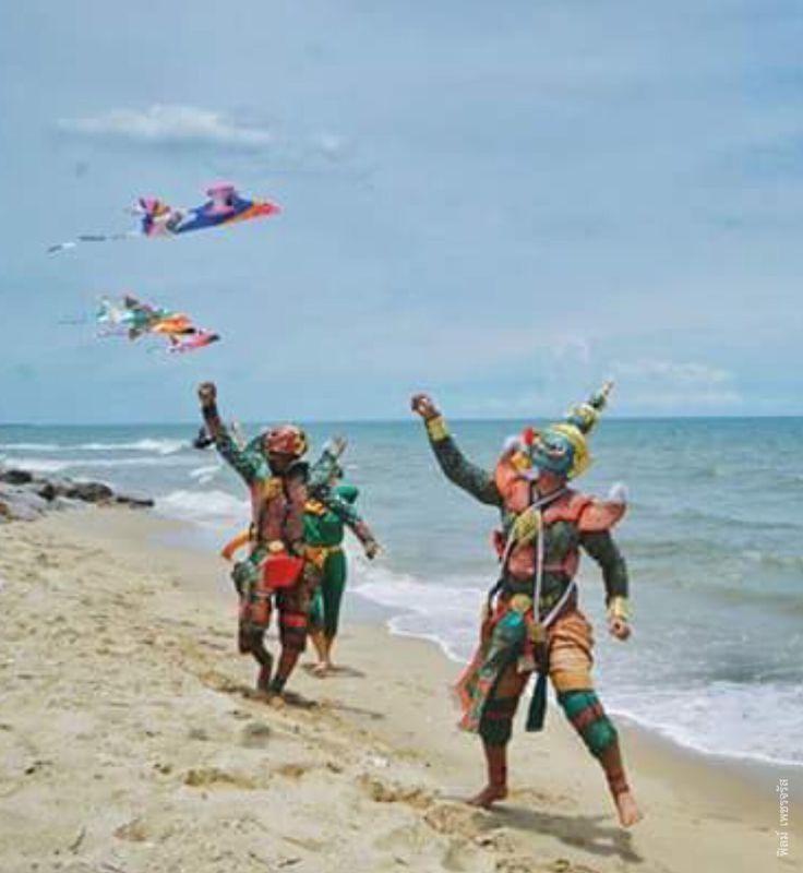 Tod sa kun and friends fly a kite # Film Petchjarust