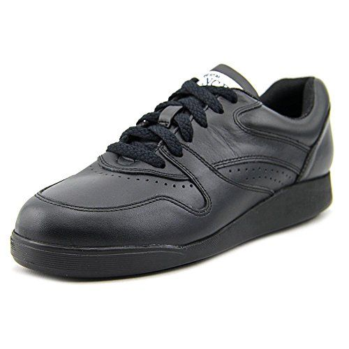 New Womens Hush Puppies Black Leather Upbeat Walking Shoes H57477 Hush Puppies Women Sneakers Black Hush Puppies