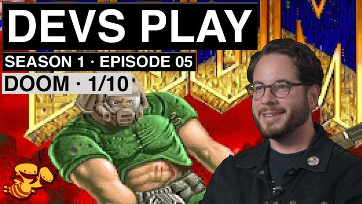 """Part 1 Legendary video game designer John Romero, perhaps best known for his work on Doom and Wolfenstein 3D while at developer id Software, plays through the first episode of Doom--""""Knee-Deep in t..."""