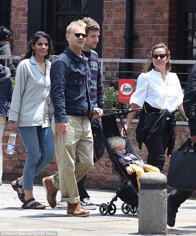 They're with the band! Mick Jagger's children Jade, James and Georgia May Jagger were spot...