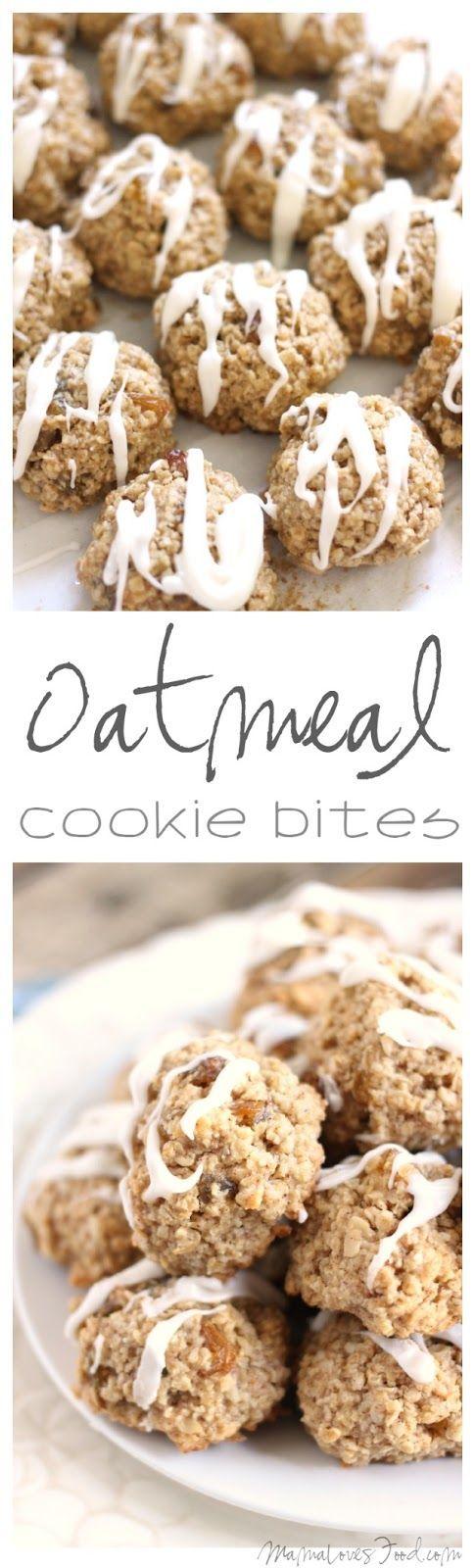 Flourless Oatmeal Cookie Bites #MyLittleRemedies ad @target