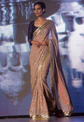 Manish Malhotra Latest Designer Saree Collection 2017-2018 Designs