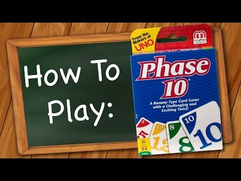 how to play phase 10 video