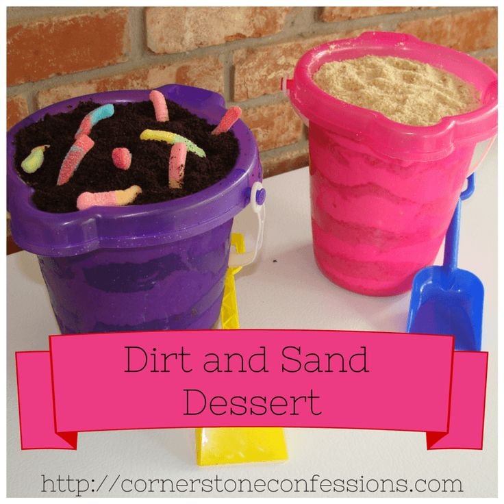 Dirt and Sand Dessert is a simple dessert that is perfect for summer, kids, practical jokes, and tastes amazing.