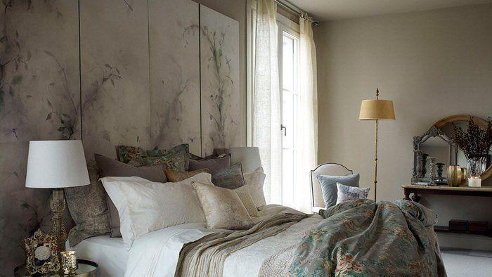 Les 83 meilleures images propos de t tes de lit sur pinterest baroque za - Fabriquer tete de lit papier peint ...