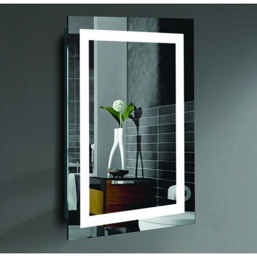 Creators Inc Malisa 24 X 36 Inch Led Lighted Wall Mirror By Civis Usa Walls