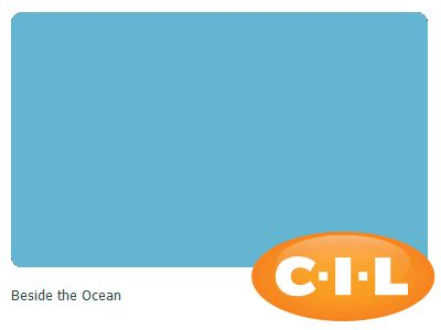 Look at this gorgeous CIL paint colour I found at CIL.ca! It's Beside the Ocean 70BG 40/284. Braeden accent or bathroom?