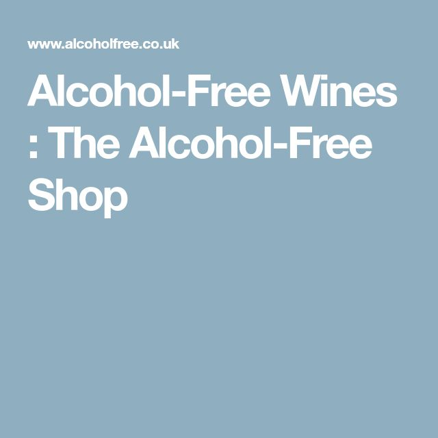 Alcohol-Free Wines : The Alcohol-Free Shop