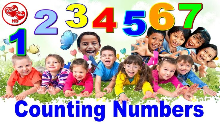 """counting numbers - Children learn that counting numbers is super fun with AkirahTube HD! """""""