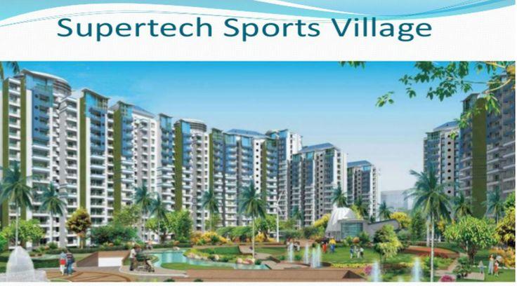 #SupertechSportsVillage offers 2/3 BHK modish apartments at Noida Extension. https://goo.gl/WMXbj1