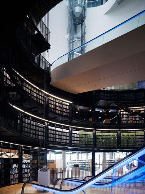 Library of Birmingham by Mecanoo #interiors