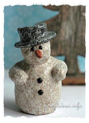 decopatch muñeco de nieve