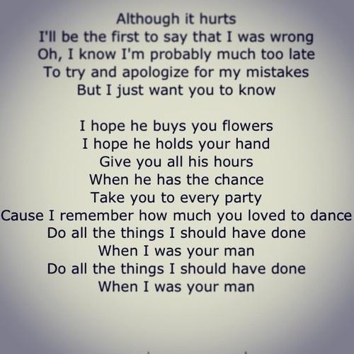 i wish you were my girlfriend song