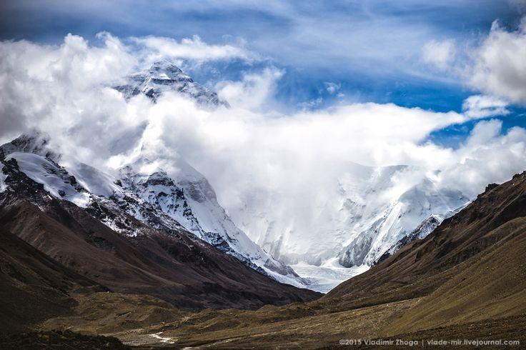 Эверест вид из базового лагеря