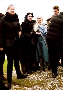 """…and Danaerys pet it: 