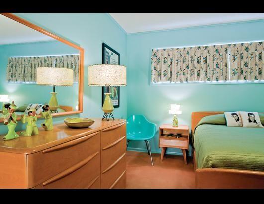 Bedroom Interior from Tulsa, OK ranch house