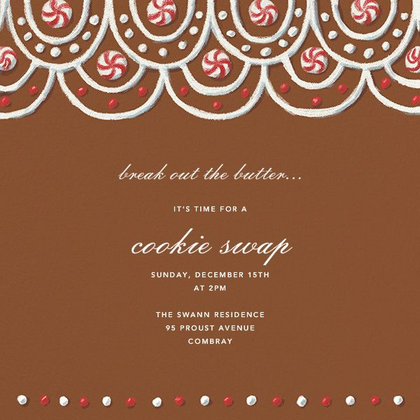Best Online Holiday Party Invitations Images On