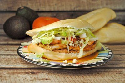 Tortas de Milanesa (Pork Cutlet Sandwiches) ~ Global Street Food #SundaySupper! | Juanita's Cocina