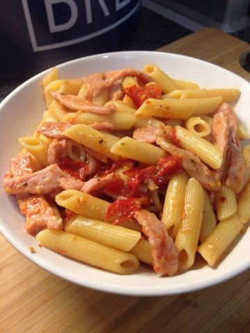 Vicki-Kitchen: Nigellas Pasta alla Bruno (Slimming World friendly)