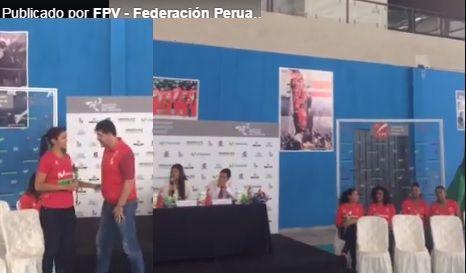VIDEO DE LA PRESENTACIÓN DE LA PRE SELECCIÓN MAYORES POR FEDERACIÓN PERUANA DE VOLEIBOL