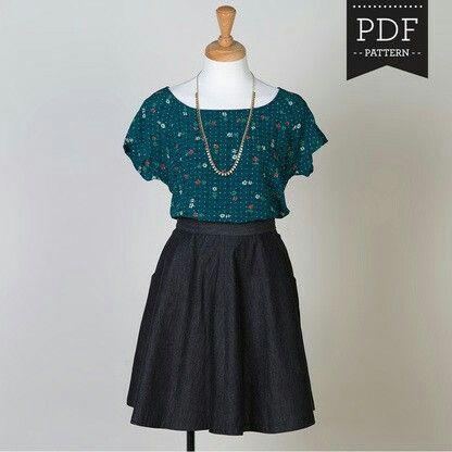 1266 best ja images on Pinterest   Nähprojekte, Patron de couture ...
