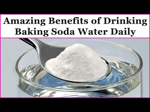 Amazing Benefits of Drinking Baking Soda Water Daily