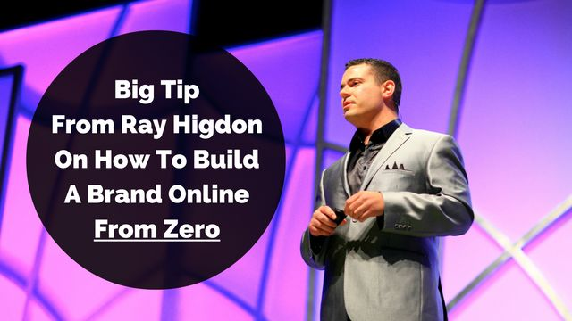 Your brand is important if you want to have results in online business and here's BIG tip from Ray Higdon on how you can build it from zero: http://brandonline.michaelkidzinski.ws/big-tip-from-ray-higdon-on-how-to-build-a-brand-online-from-zero/