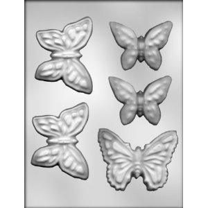 chocolate molds butterfly | Butterfly Assortment Chocolate Candy Mold 90 13179 | eBay