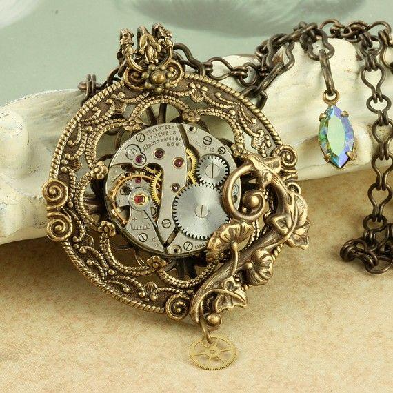 Bijoux pendentif Steampunk