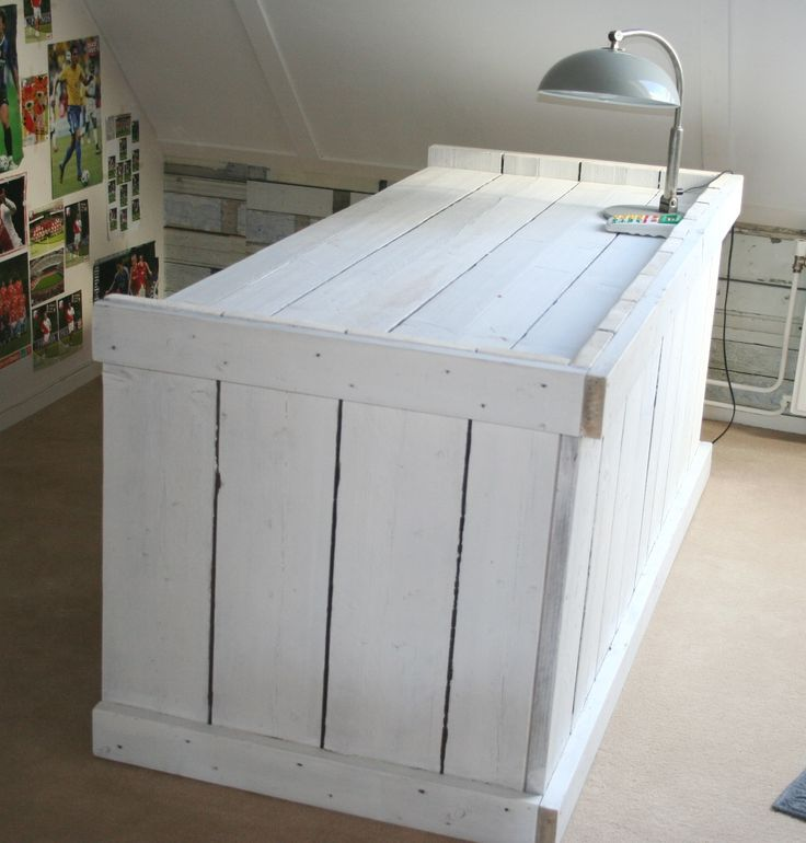 66 best images about steigerhout on pinterest grey wood for Ladeblok garage