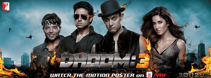 Dhoom:3 Motion Poster!