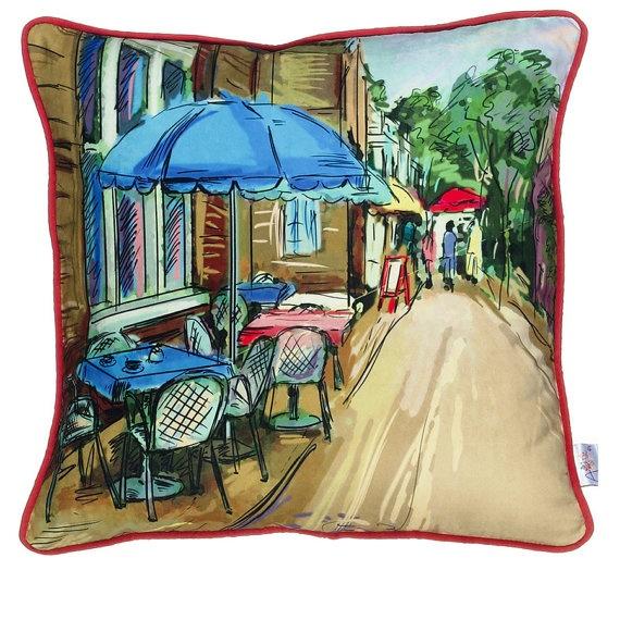 Apolena Narrow Street Cushion by ESRATASARIM on Etsy, $34.00