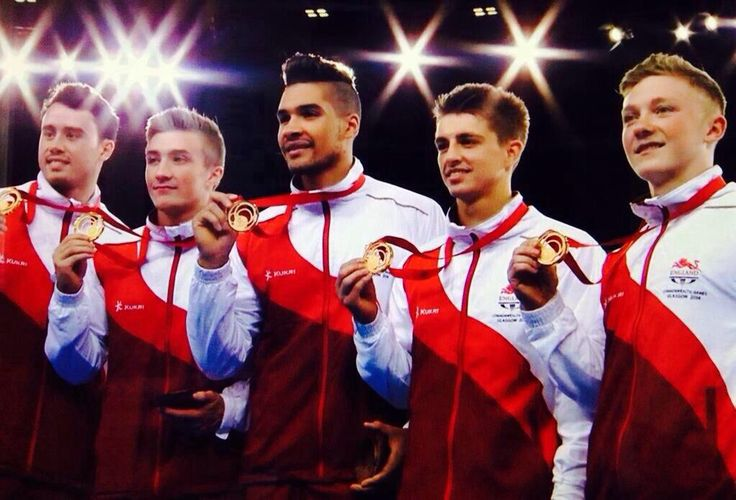 Max Whitlock Louis Smith Sam Oldham Kristian Thomas Nile Wilson Gymnastics