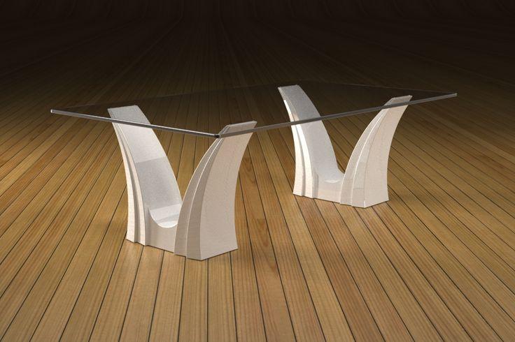 Articolo 3EA-20     Tavolino da salotto Apollo - Finitura: laccato bianco lucido.Misure: cm 110 x 65 - Altezza cm 37  - Peso: Kg.45 - Vetro: rettangolare -  temperato - extrawhite - filo lucido - spessore 1 cm