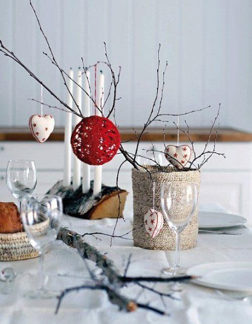 ideas para la mesa navidea