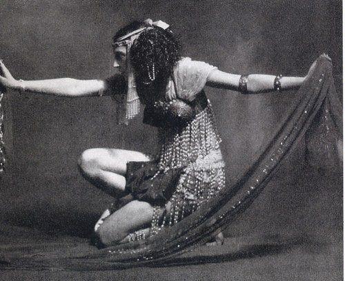Ида Рубинштейн, Саломея, танец Семи покрывал  Loise Lane - Русские балеты Дягилева- Михаил Фокин