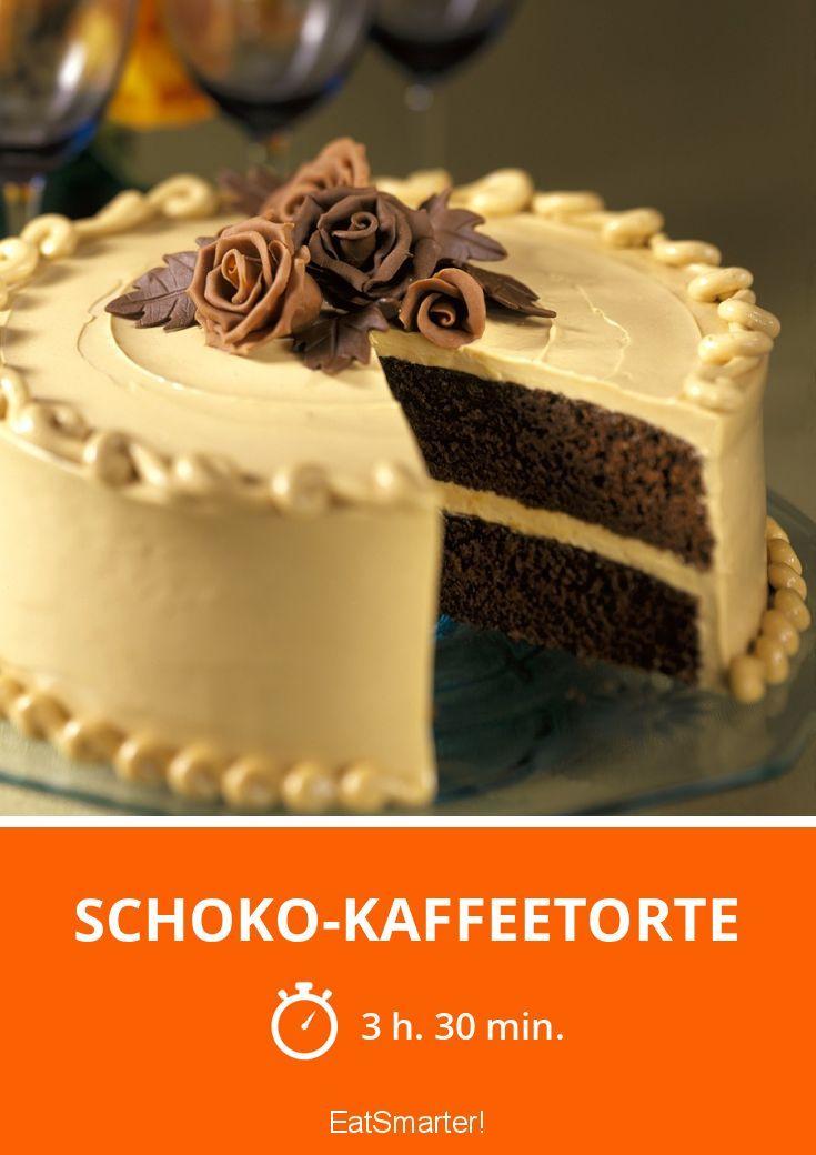 Schoko Kaffeetorte Rezept Kuchen Pinterest Kaffeetorte