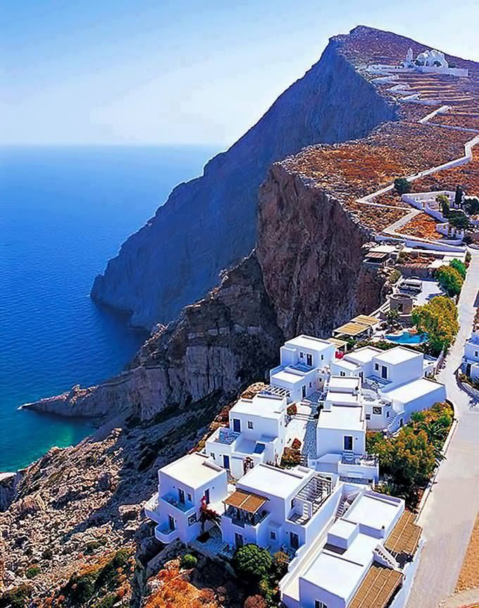 Beautiful Folegandros island ~ Greece