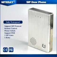 [ $23 OFF ] Niteray New Fully Waterproof Sip Door Bell Door Phone For Office Access Control