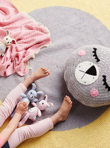 La De Dah Mini Bunnies #ladedah #eclectic59 #bunny #softie #kraamcadeau #gehaakt #speelgoed #knuffels