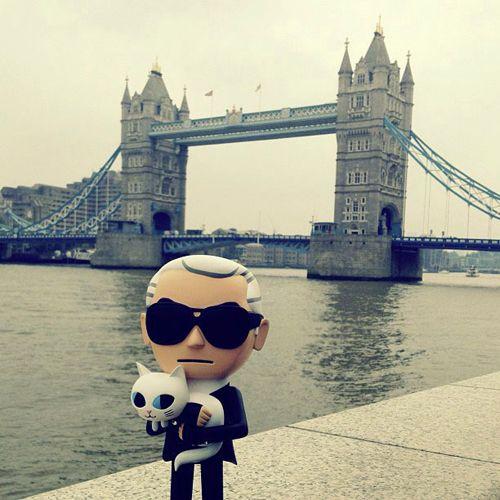 Tokidoki Karl in London