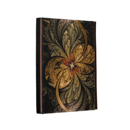 Shining Leaves Fractal Art iPad Folio Case $62.20 #fractal #abstract #iPad #cases