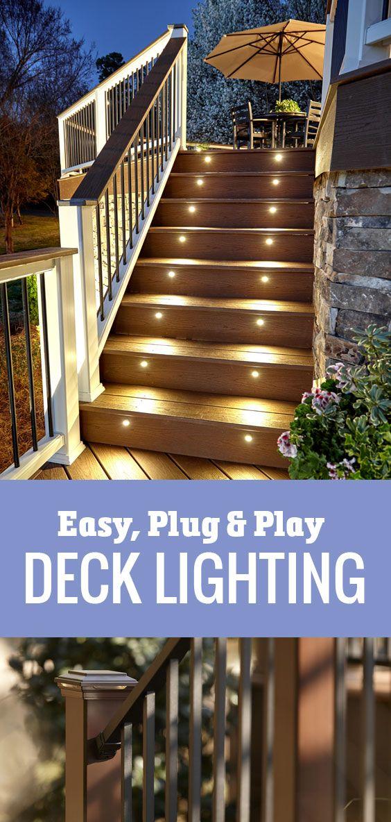 Lighting the Way to a Deck of Distinction – Wimsatt Building Materials