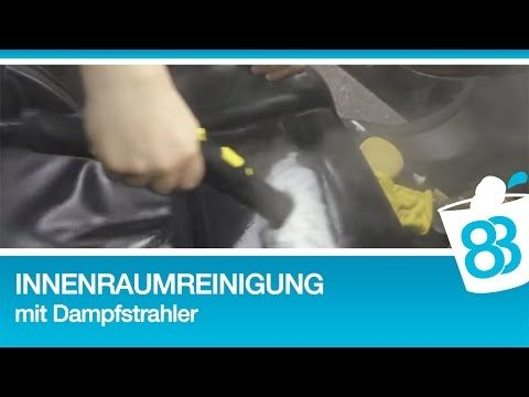 Innenraumreinigung Lederreinigung mit Dampfreiniger und Chemical Guys Leather Cleaner & Conditioner - YouTube